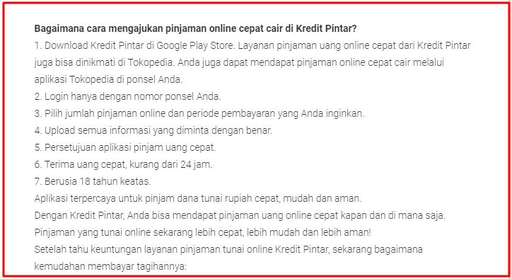 Daftar Kredit Pintar via Aplikasi untuk Mendapatkan Pinjaman